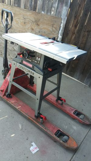 Table saw/pallet jack for Sale in Bakersfield, CA