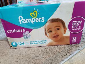 Pamper size 4 for Sale in Orange City, FL