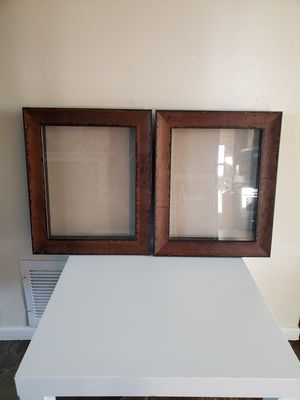 Rustic Brown Picture Frames Shadow Boxes Display Cases for Sale in Covina, CA