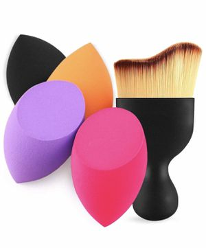 Brand new Makeup Sponges with Contour Brush, Makeup Blending Sponge for Dry & Wet Use, Latex-free Makeup Blender Beauty Sponge, Multi-Colored, Featur for Sale in Imperial, MO