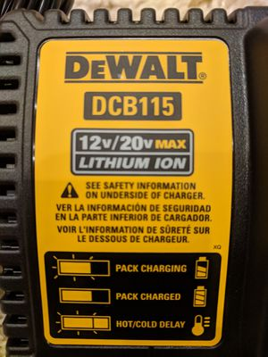 DeWalt Rapid wireless charger lithium ion for Sale in Poway, CA