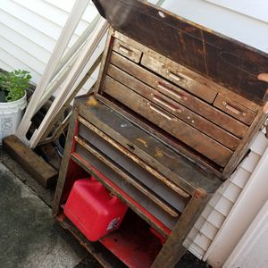 Huge metal tool box organizer for Sale in Greene, NY