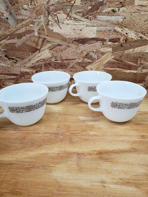 Set of 4 Vintage Pyrex Coffee Cups for Sale in Leopold, IN