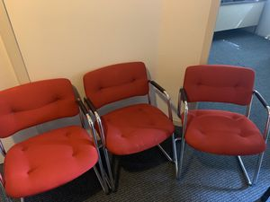 Red office chairs for Sale in Belleville, MI