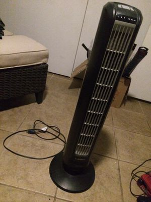 LASKO 3 SPEED TOWER FAN - PERFECT WORKING ORDER ($29) OBO for Sale in Tempe, AZ