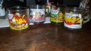 Set of 4 Garfield McDonald's Glass for Sale in San Jose, CA