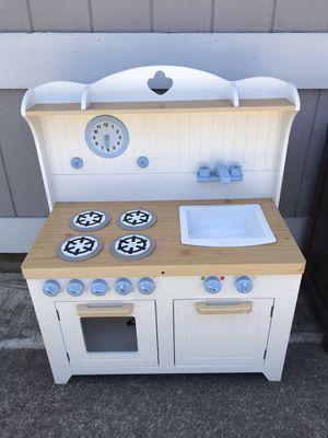 Children's wooden kitchen for Sale in San Mateo, CA