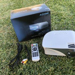 "Mini Projector 1200 LM Multimedia Outdoor 20""-150"" HDMI VGA USB AV SD Audio 1080P for Sale in Rancho Cucamonga, CA"