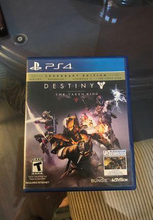 ps4 Destiny for Sale in Ontario, CA