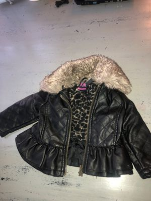 Cute leather fur coat for Sale in UT, US