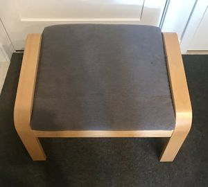 IKEA Poang Foot Stool (Grey Cushion) for Sale in Washington, DC