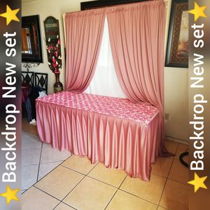 🌸Backdrop Rose color for Sale in Fontana, CA