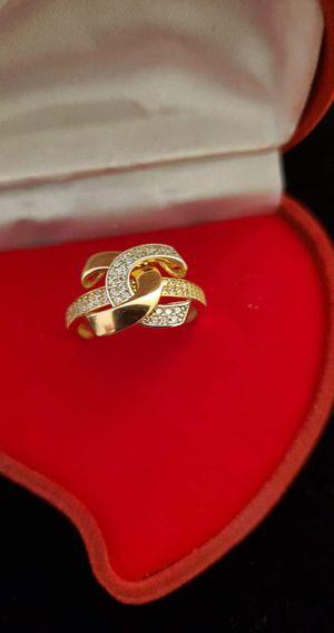 18K Saudi Rose Gold Ring for Sale in Reed City, MI
