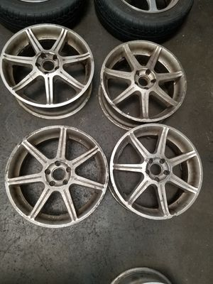 Ray's Versus wheels 17 inch 5x100 for Sale in La Habra, CA