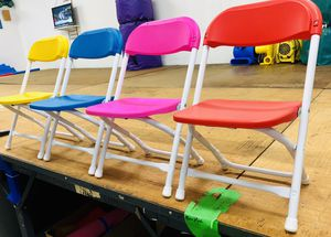 Kids plastic folding chairs for Sale in Los Angeles, CA