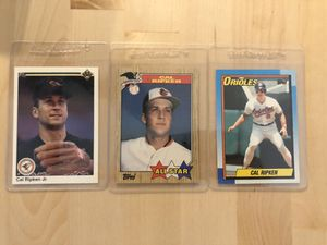 Cal Ripken jr vintage collectible cards for Sale in Los Angeles, CA