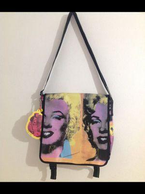 RARE Andy Warhol Marilyn Monroe Messenger Bag/Purse Book Bag for Sale in Orange, CA