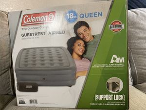 Coleman GuestRest Double High Airbed - Queen for Sale in Carmichael, CA