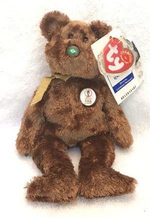 2002 FIFA ty beanie baby Brazil 🇧🇷 soccer ⚽️ bear 🐻 for Sale in Roswell, GA