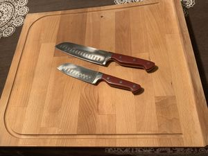 Large cutting board and knives for Sale in Spring Valley, CA