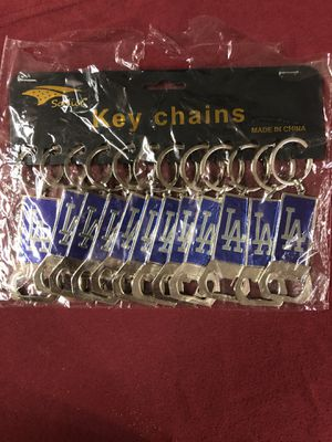 Los Angeles Dodgers keychains for Sale in Moreno Valley, CA