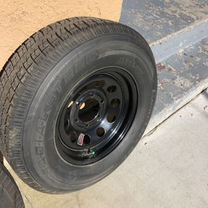 225/75r15 Trailer Tire With Rim for Sale in Fontana, CA