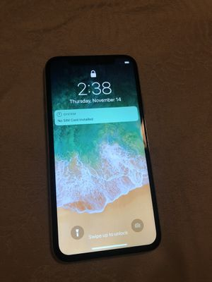 iPhone X 64GB for Sale in Sanford, FL