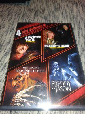 Nightmare on elm street dvd set for Sale in Kansas City, MO