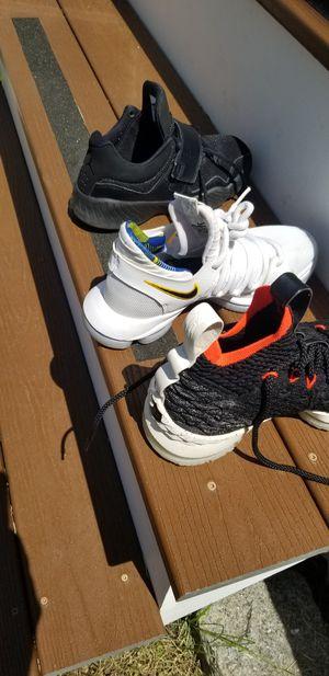 LeBron's soldier, Kd Nike zoom & Jordan kids shoes for Sale in Boston, MA