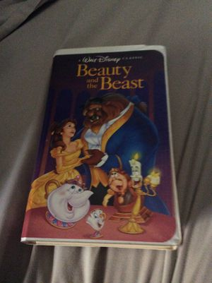 Walt Disney Beauty and the Beast VHS tape for Sale in Lancaster, OH