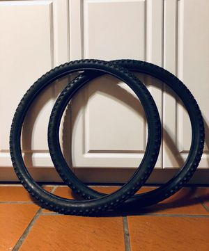 "26"" x 1.95 MTB/hybrid bike tires (set of 2) for Sale in Miami Gardens, FL"
