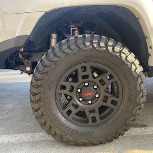 Toyota 17-In. TRD PRO Wheels Matte Black for 4Runner for Sale in Fresno, CA