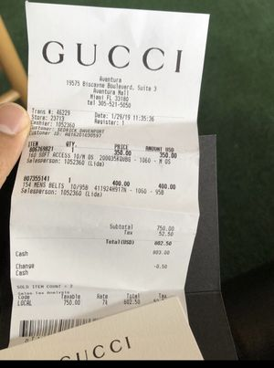 Gucci slides for Sale in Ashley, OH
