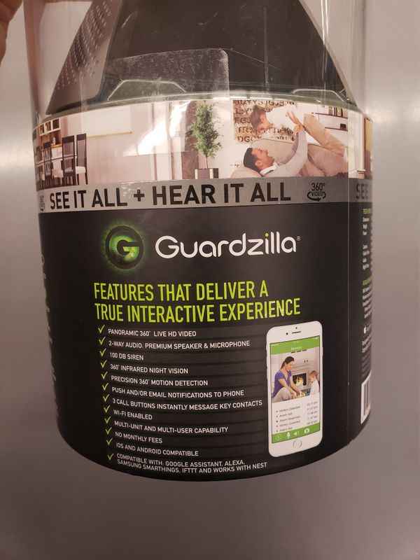 GUARDZILLA SECURITY CAMERA HD 360 FOR OUT DOOR AND INDOOR