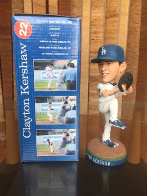 Clayton Kershaw Bobblehead. for Sale in West Hollywood, CA
