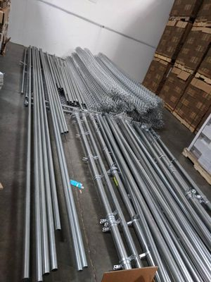 216'long x12' tall 9ga galvanized chain link fence for Sale in Tigard, OR