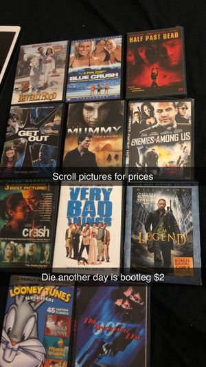 Movies dvds comedy horror adventure action cds for Sale in Glendale, AZ