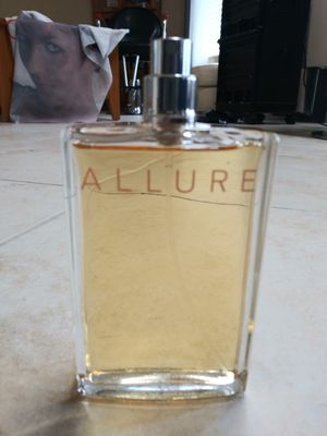 Chanel Allure EDT 3.4 oz Womens Perfume New No Cap 100% Authentic for Sale in West Palm Beach, FL