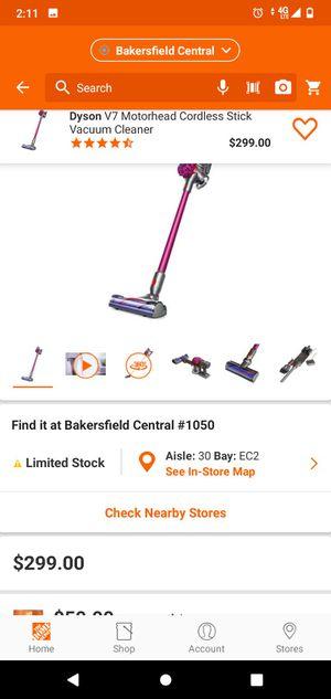 Dyson V7 Motorhead Cordless Stick Vacuum Cleaner - aspiradora inalambrica for Sale in Bakersfield, CA