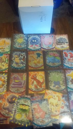 Topps Pokemon cards - rare holo charizard for Sale in Canton, IL