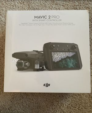 Dji mavic 2 pro with smart controller brand new for Sale in South Brunswick Township, NJ