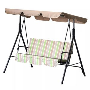 Outdoor Porch Swing Lounge Chair with Top Canopy - Multi-color for Sale in Los Angeles, CA