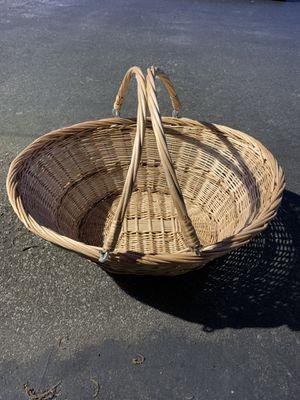 Wicker basket for Sale in West Lafayette, IN