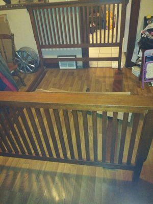 Bed frame King for Sale in Rockford, IL
