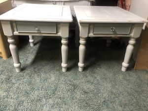 Two Refinished vintage nightstands / end tables/ accent tables for Sale in Medford, MA