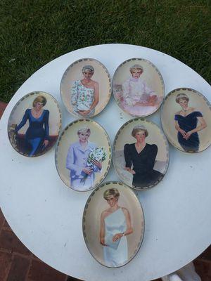 Platos de colección antiguas de la princesa Diana for Sale in Compton, CA