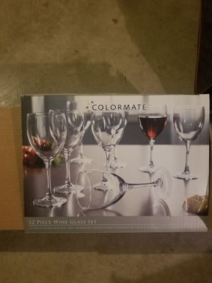 12 piece wine set for Sale in St. Louis, MO
