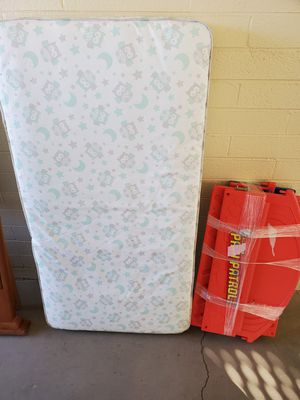 Toddler bed and mattress for Sale in Sun City, AZ