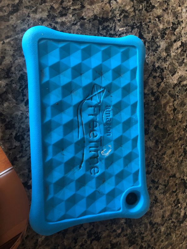 Amazon fire tablet with kids cover