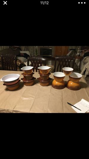 Pyrex set used In good condition 150$ for all off them for Sale in Moreno Valley, CA